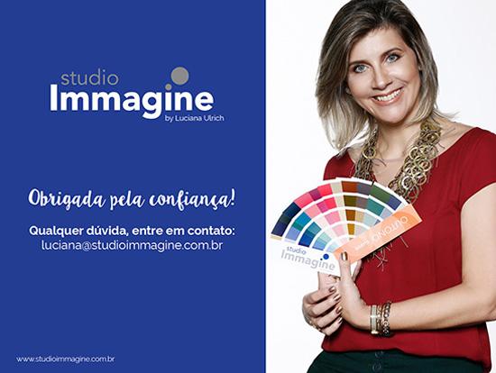 curso de coloração pessoal com Luciana Ulrich da Studio Immagine, no Rio de Janeiro.