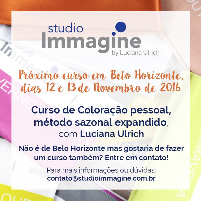 curso de coloração pessoal em Belo Horizonte com Luciana Ulrich