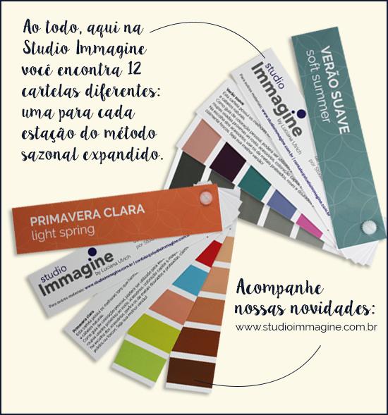 o que é uma cartelas de cor ou coloração pessoal?