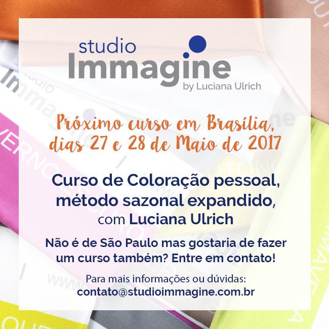 curso de coloração pessoal para consultores de imagem em Brasília