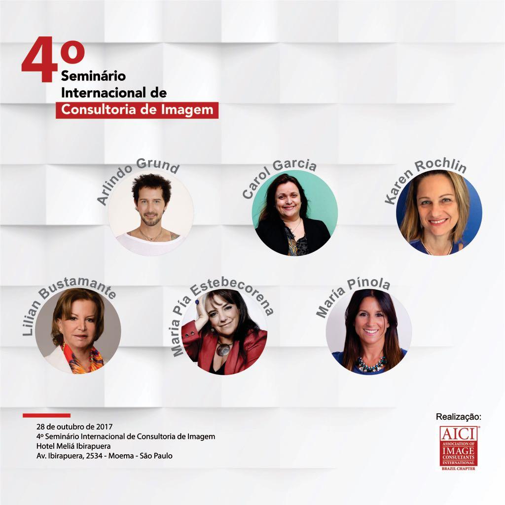 4º seminário internacional de consultoria de imagem - AICI Brasil