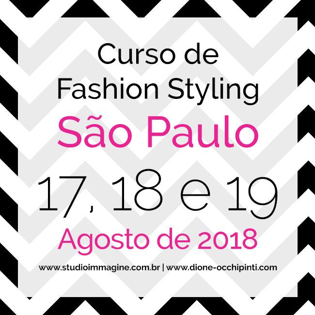 curso de fashion styling com Dione Occhipinti e Luciana Ulrich da Studio Immagine