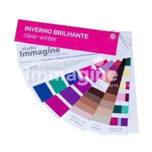 Cartela de Coloração Pessoal Inverno Brilhante