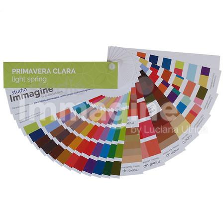 Cartela Coloração Pessoal Primavera Clara