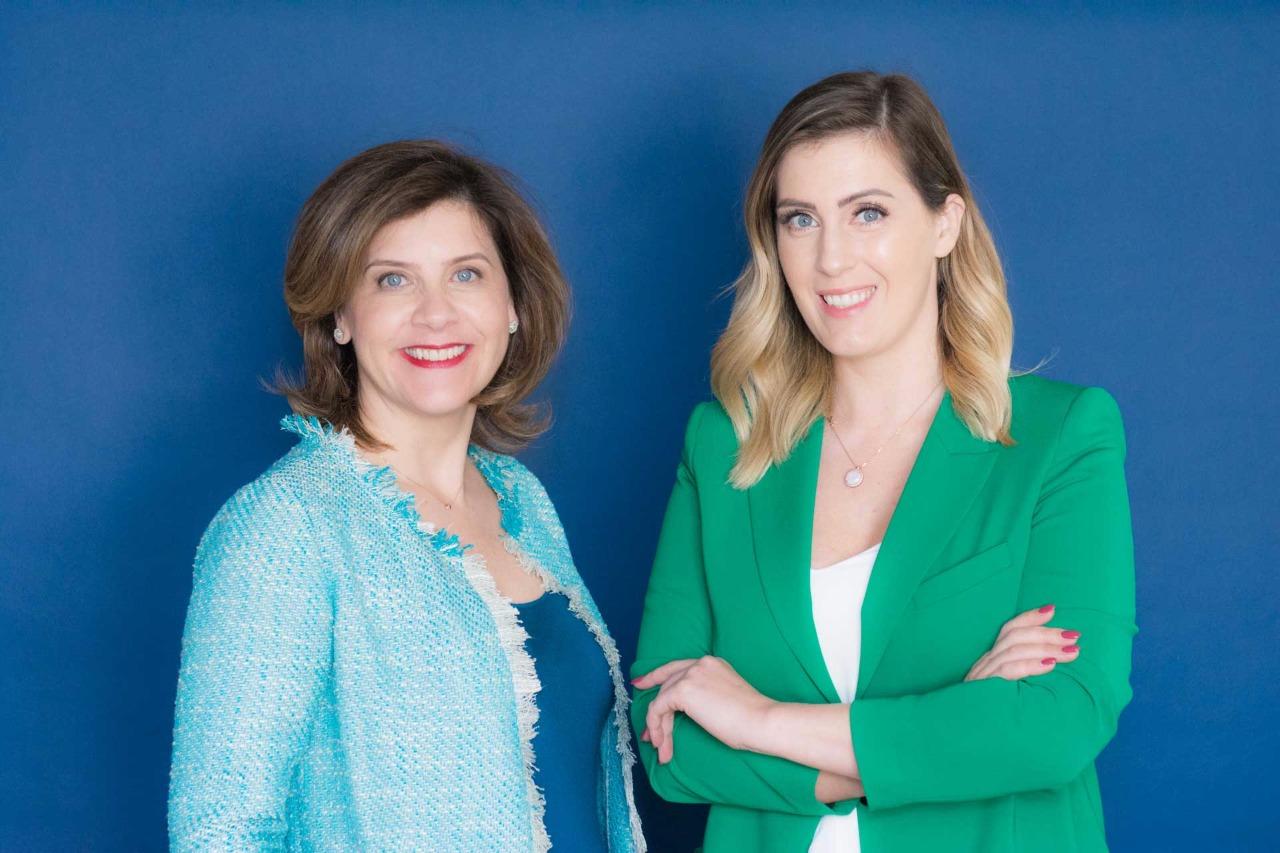 Luciana Ulrich e Raquel Guimarães