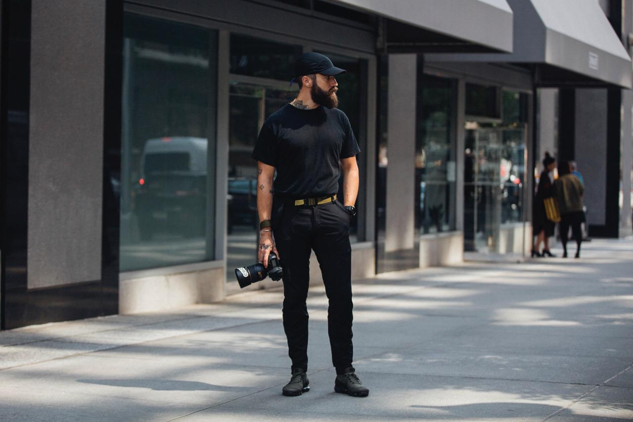 retrato de Adam Katz Sinding - fotógrafo de street style
