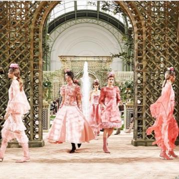 Desfile de Alta Costura da Chanel
