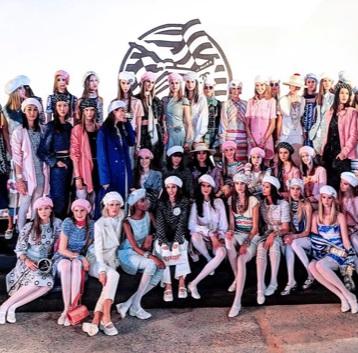 Coleção Cruise 18/19 da Chanel