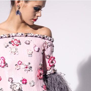 Detalhe de look do verão 2019 da Chanel
