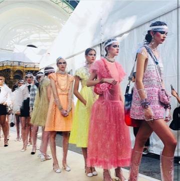 Coleção Verão 18 da Chanel