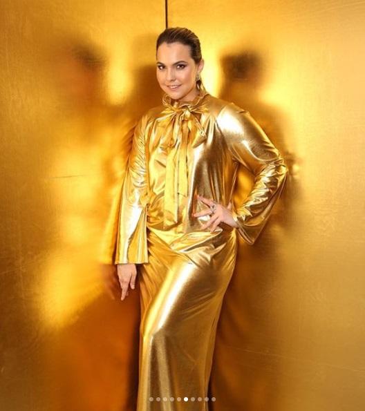 post 38 - dourado no baile da Vogue - Vivian Sotocorno