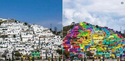 post 51 - cidade colorida no México