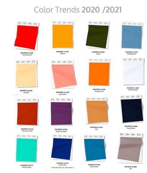 post 63 - tendências de cores para 2020 Pantone