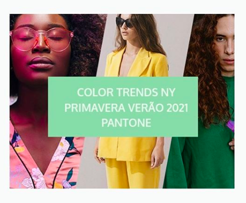 cores do verão 2021