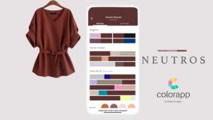 como combinar tons neutros colorapp
